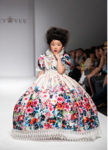 Nancy Wuu's daughter rocking the runway at LA SFW 2014