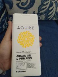 Acure Argan Oil & Pumpkin conditioner