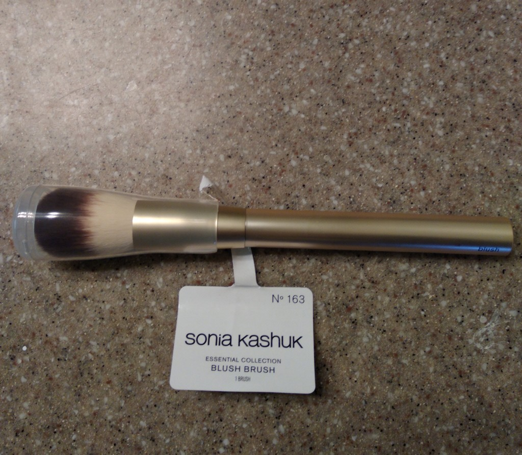 Sonia Kashuk Essential Collection Blush Brush Number 163, available at Target